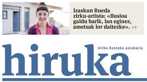 Izaskun Rueda, Zirku-Artista. HIRUKA.