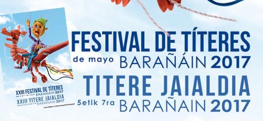 Zirkun Zirko en el festival de Títeres de Barañain